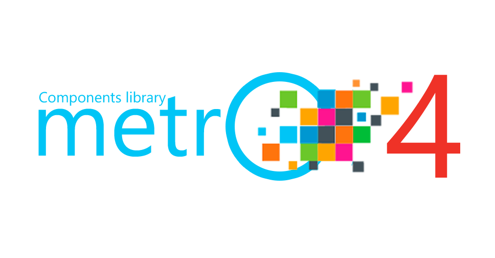 Metro 4 - Popular HTML, CSS and JS library